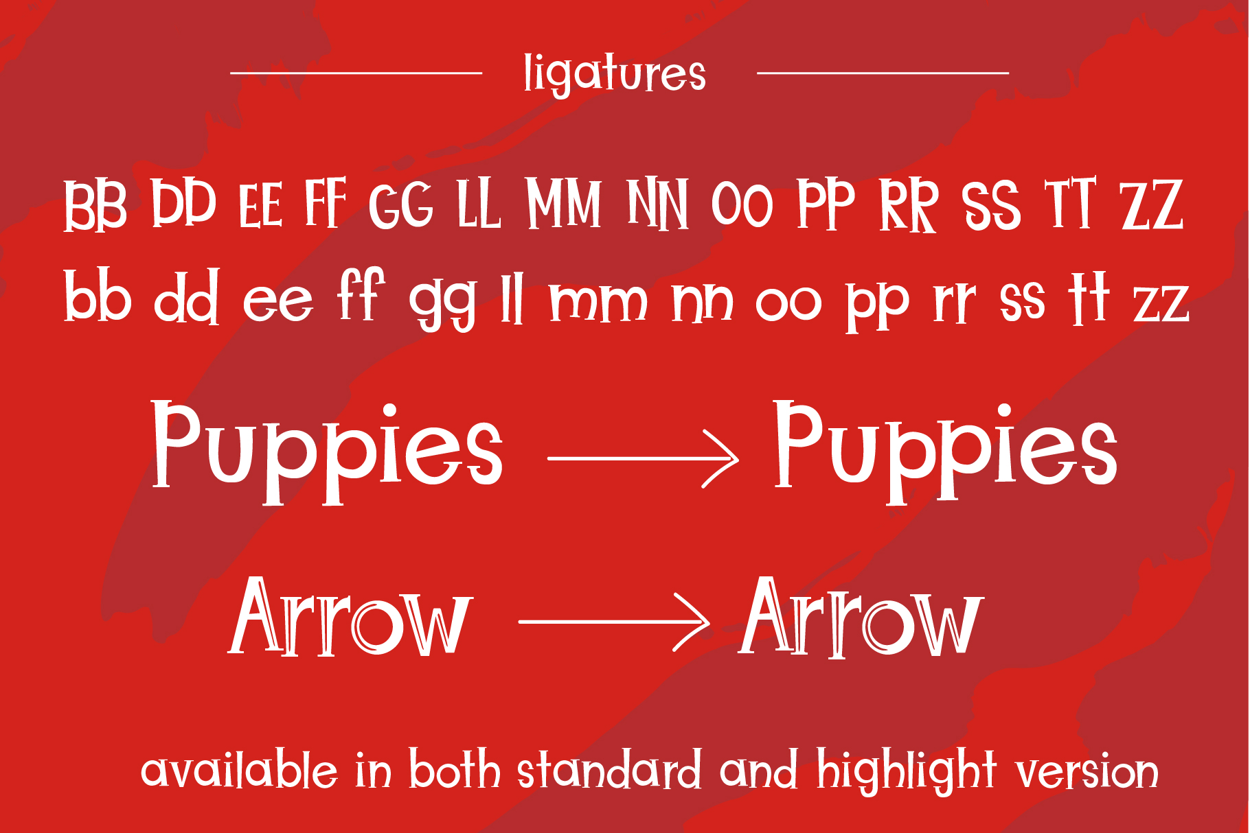 Christmas Puppies Font Pair example image 6