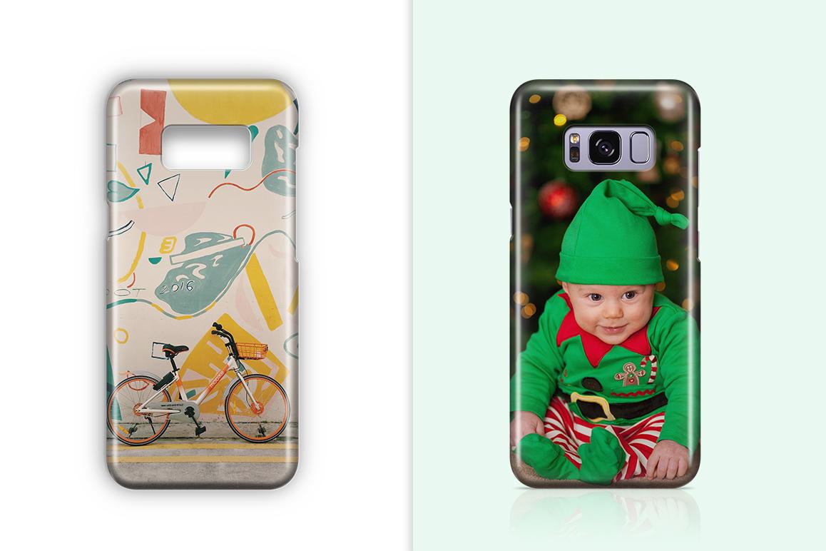 Samsung Galaxy S8 3d Phone Case Mockup example image 2
