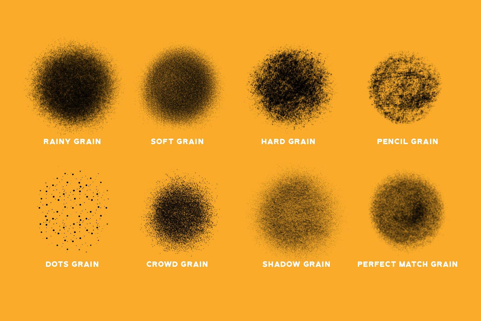 Fantastic grain for Procreate example image 2