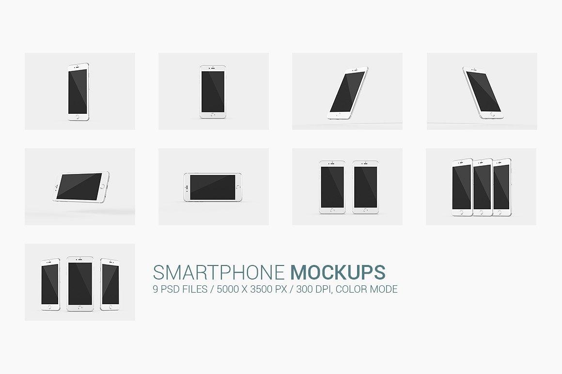 Smartphone Mock-Ups example image 10