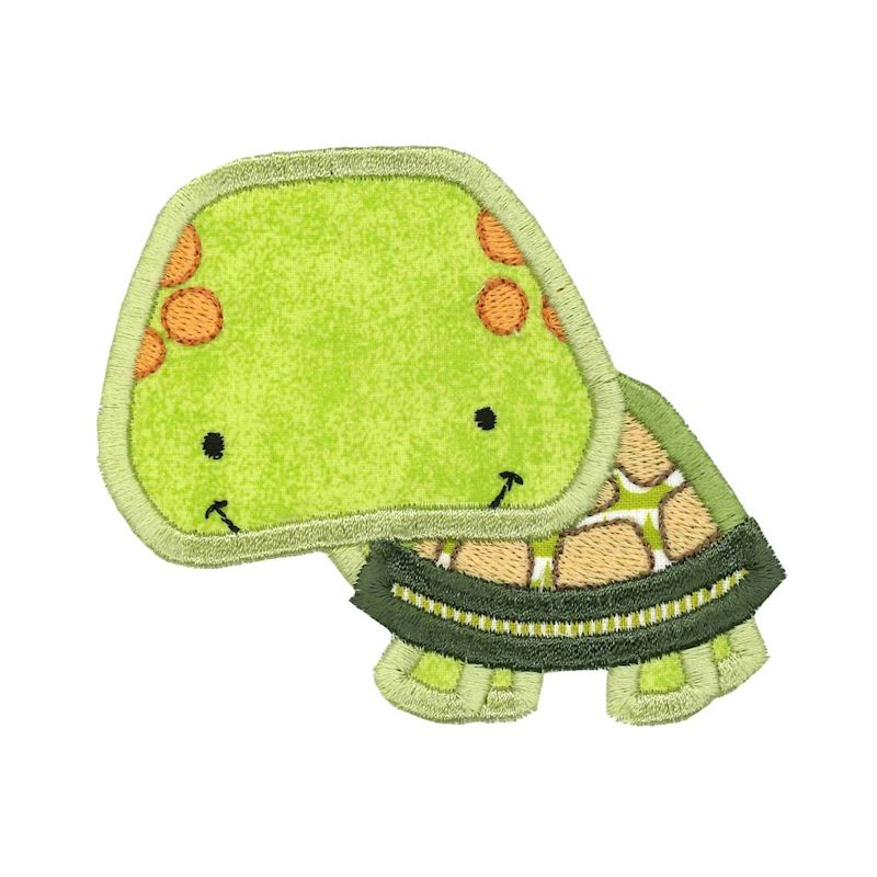 Boxy Birds And Reptiles Applique - 13 Embroidery Designs example image 11