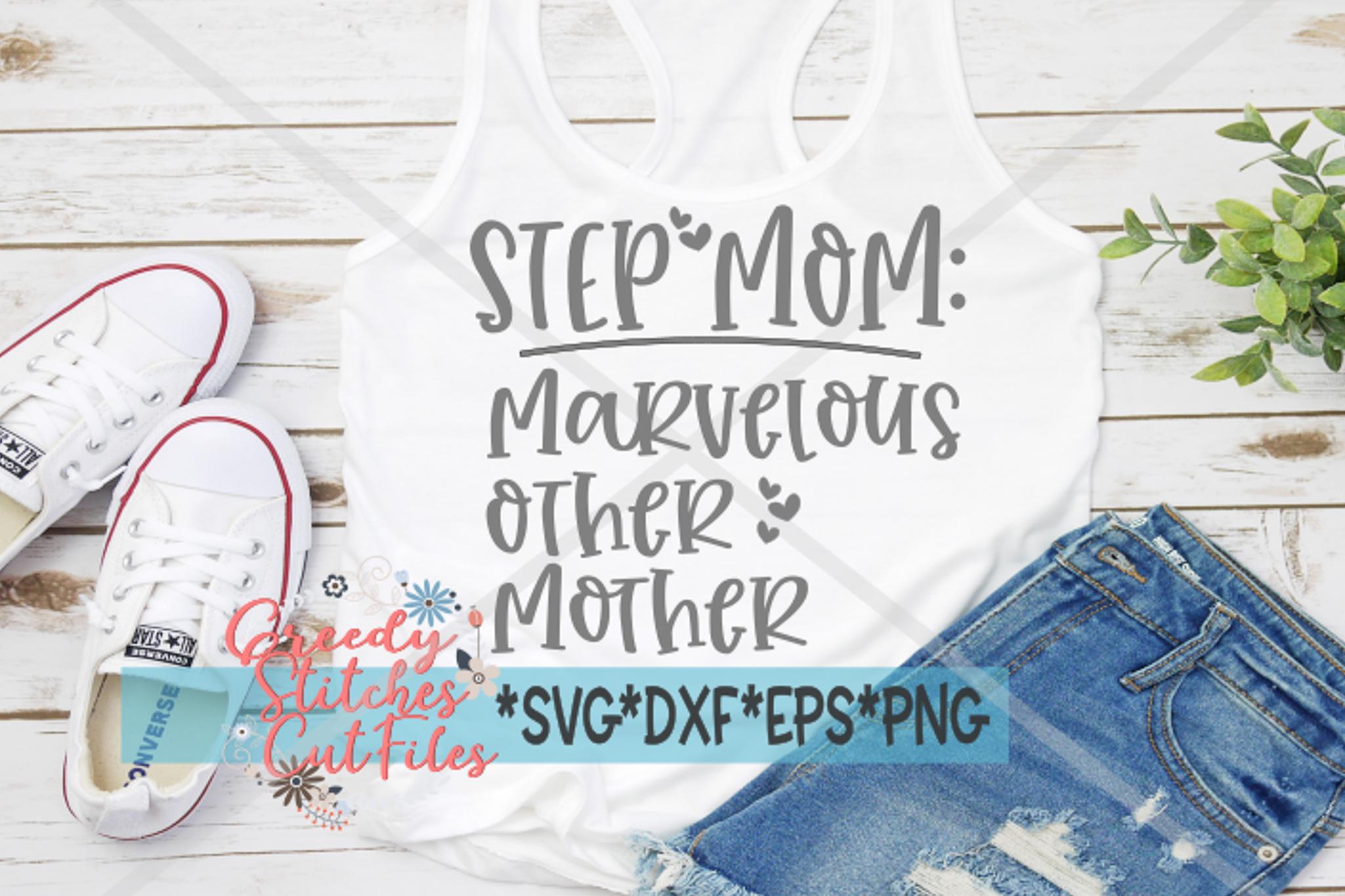 Mother's Day | Bonus Mom Bundle | Step Mom SVG Bundle example image 5