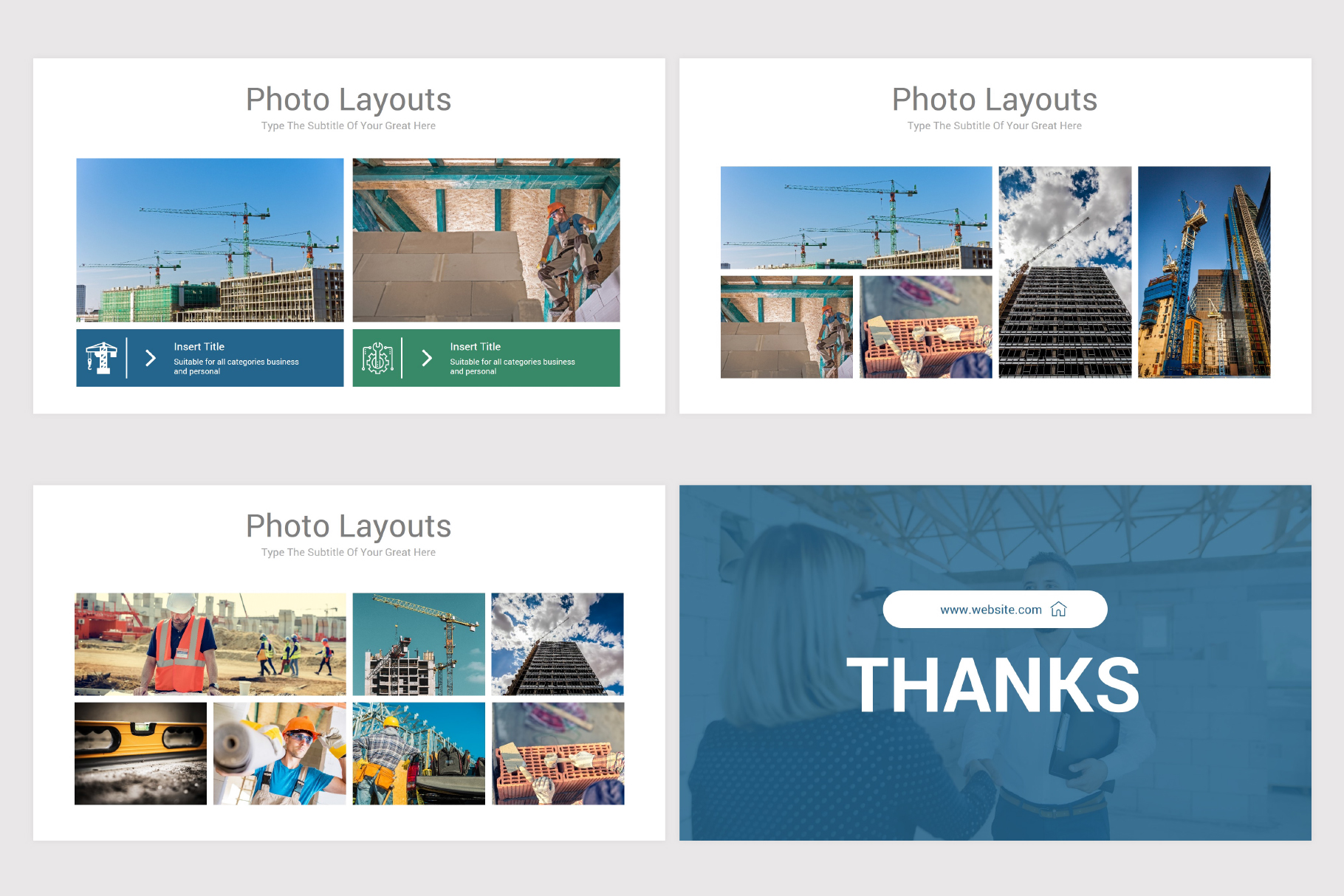 Construction Keynote Template example image 12