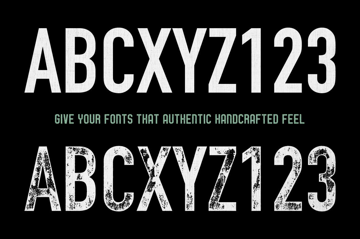 Letterpress Vector Textures example image 7