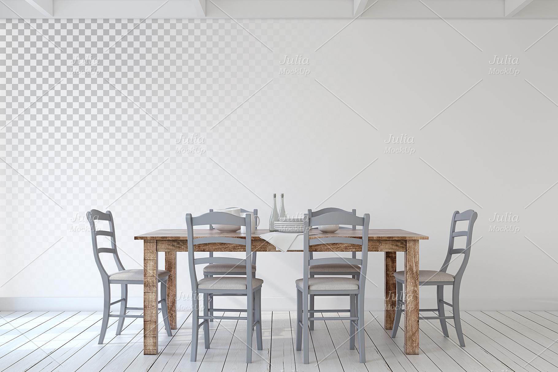 Farmhouse Style. Wall&Frames Mockup. example image 6