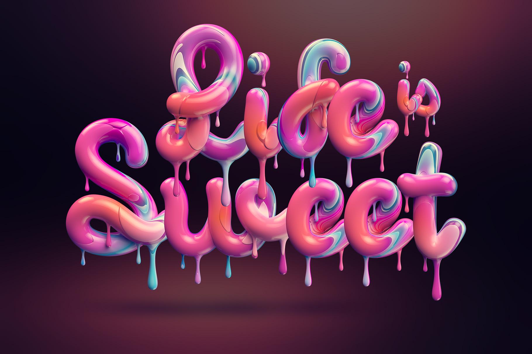 Cream alphabet example image 3