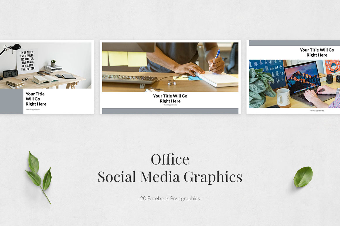 Office Facebook Posts example image 2