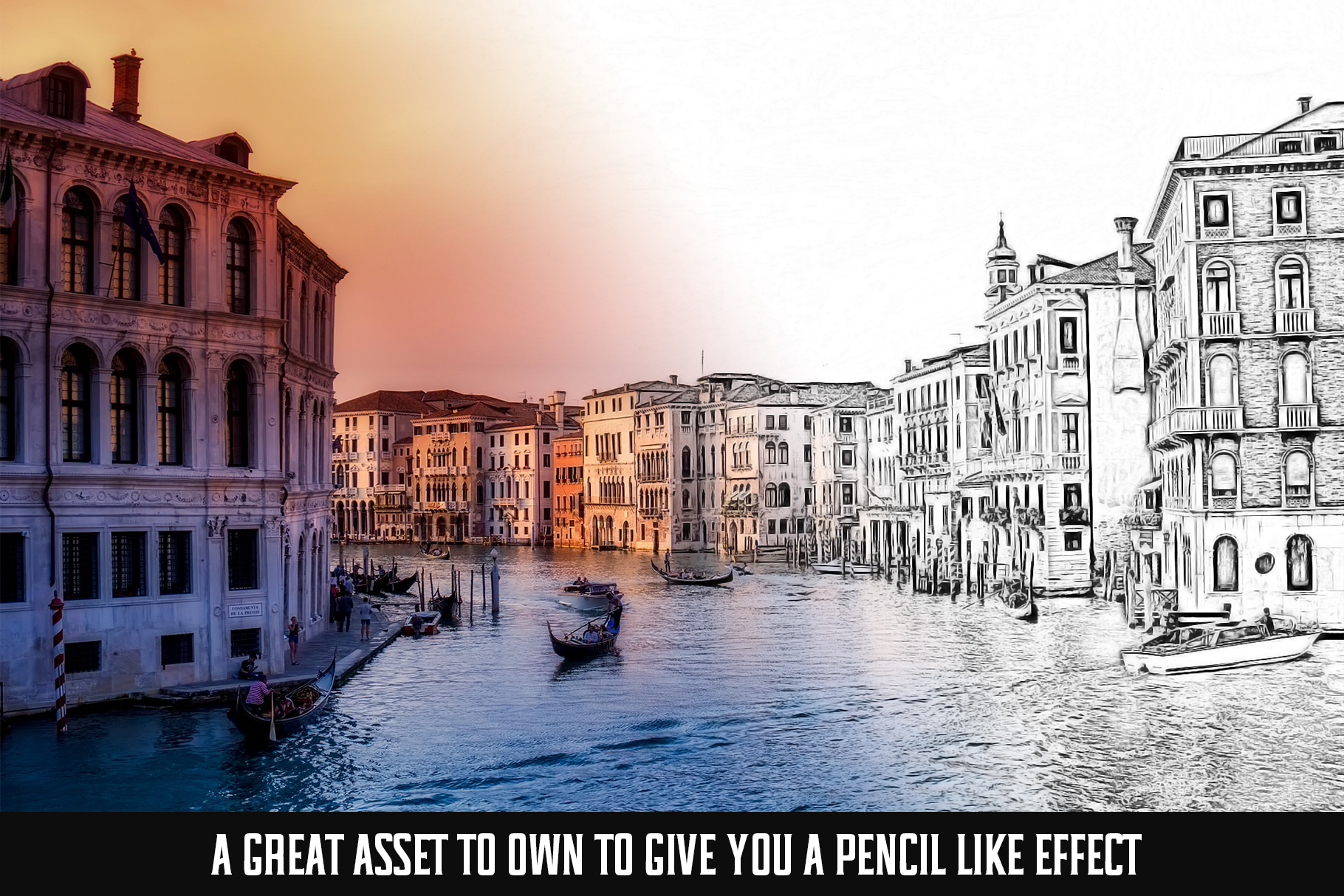 Easy Pencil Effect for Photoshop example image 4