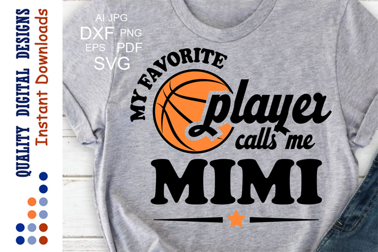 My Favorite Basketball Player calls me MIMI example image 1