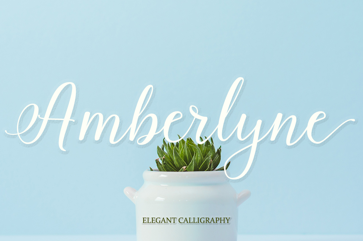 Amberlyne Script (25% Off) example image 8
