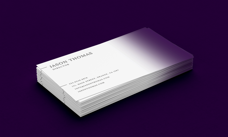 Bright Colour Beautiful Elegant Business Card 6 example image 4