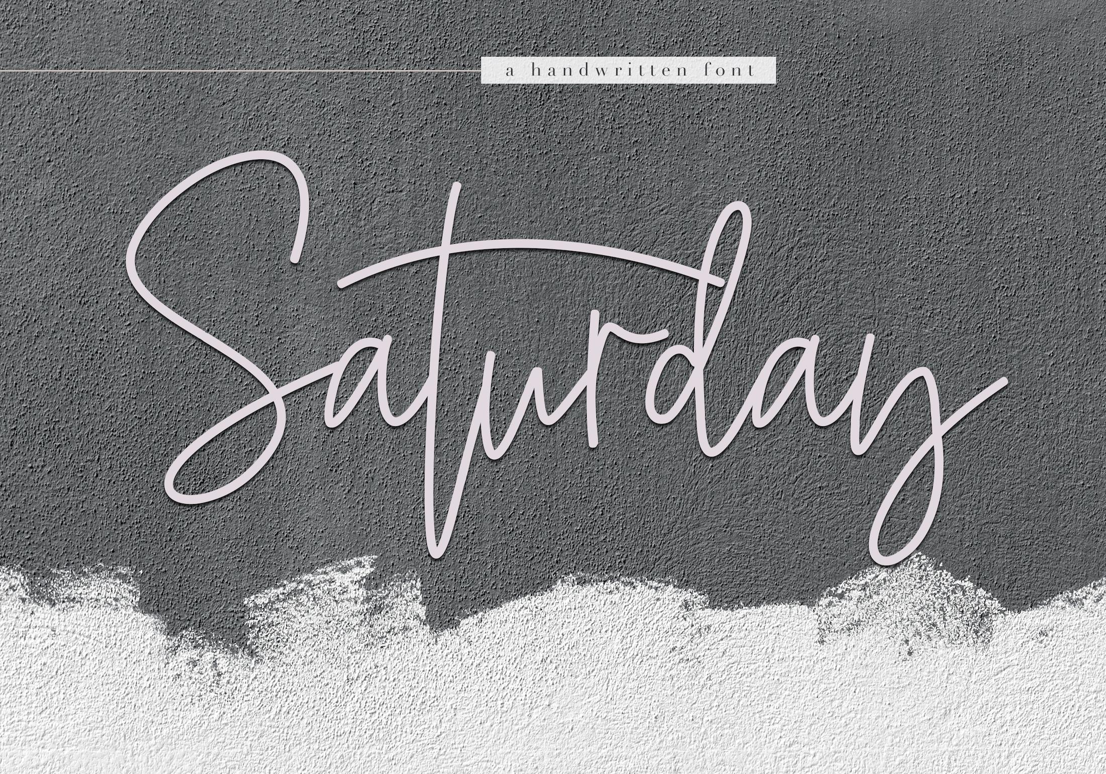 KA Designs Handwritten Font Bundle - 50 Fonts! example image 13