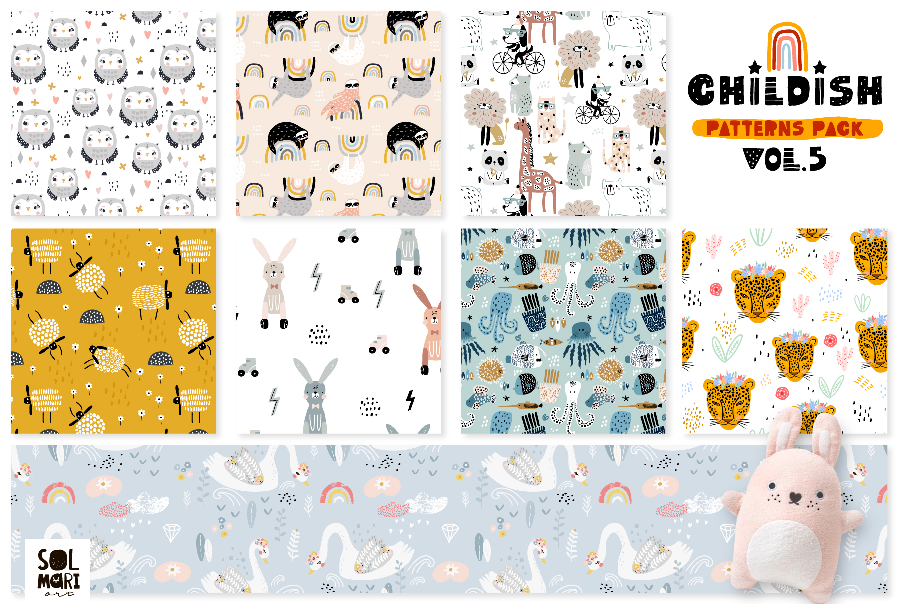 Childish patterns pack vol. 5 example image 6
