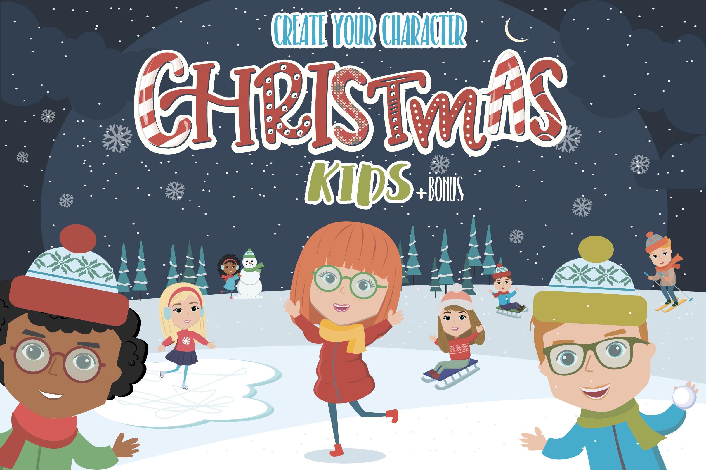 Creator Christmas kids character example image 1