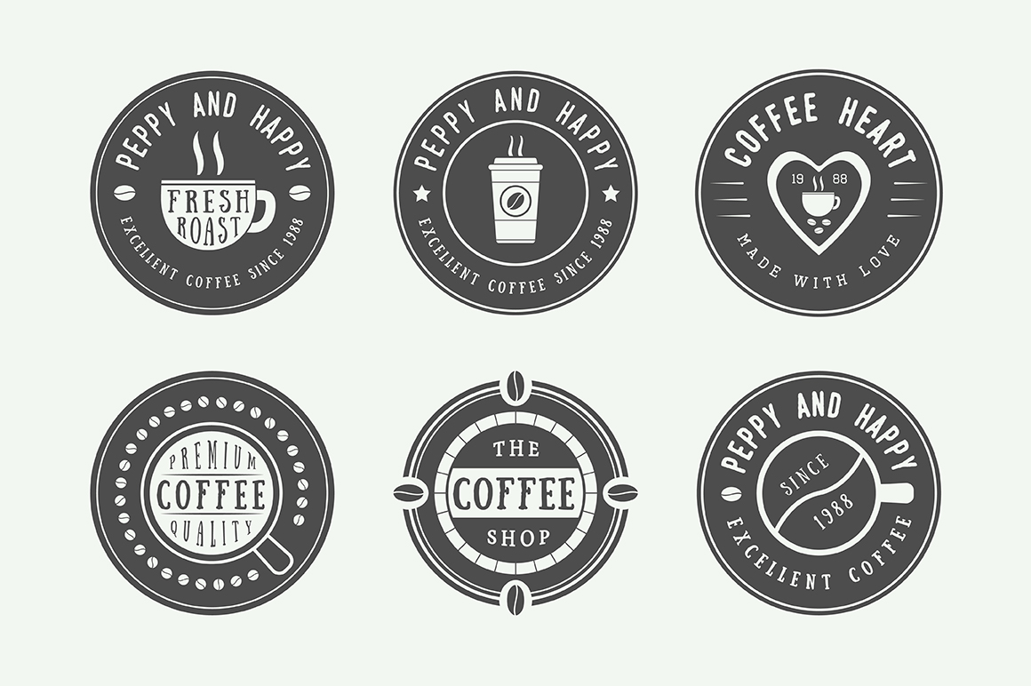 16 coffee emblems example image 2