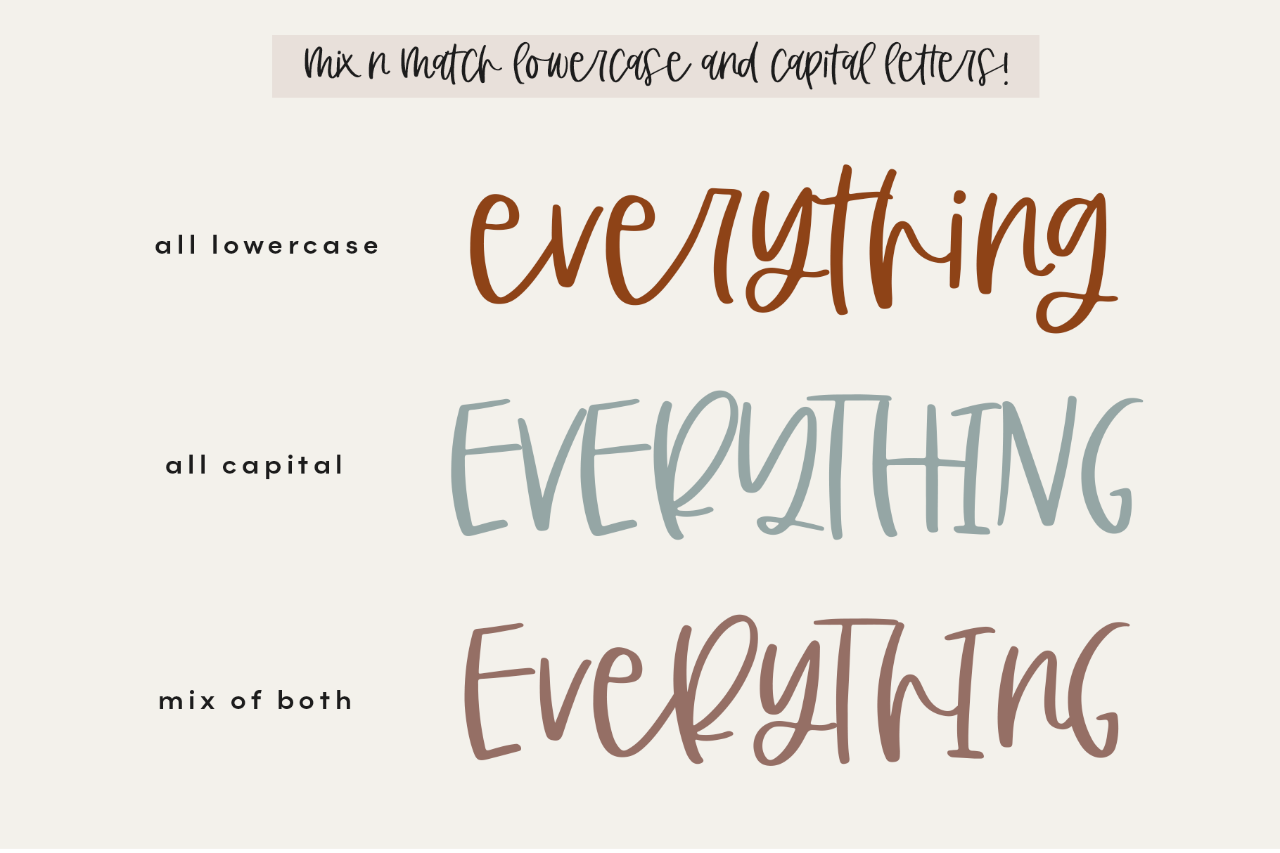 The Coffee Bundle - 6 Fun & Quirky Fonts example image 4