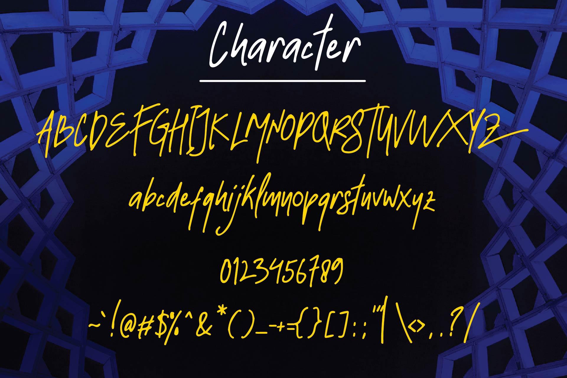 Strawline Typeface example image 4