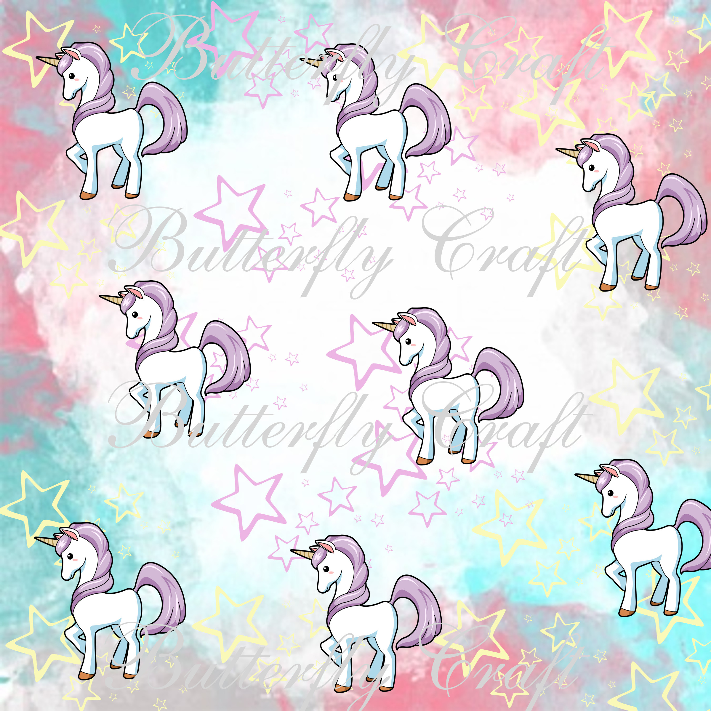 Unicorn Pattern Custom Ideas