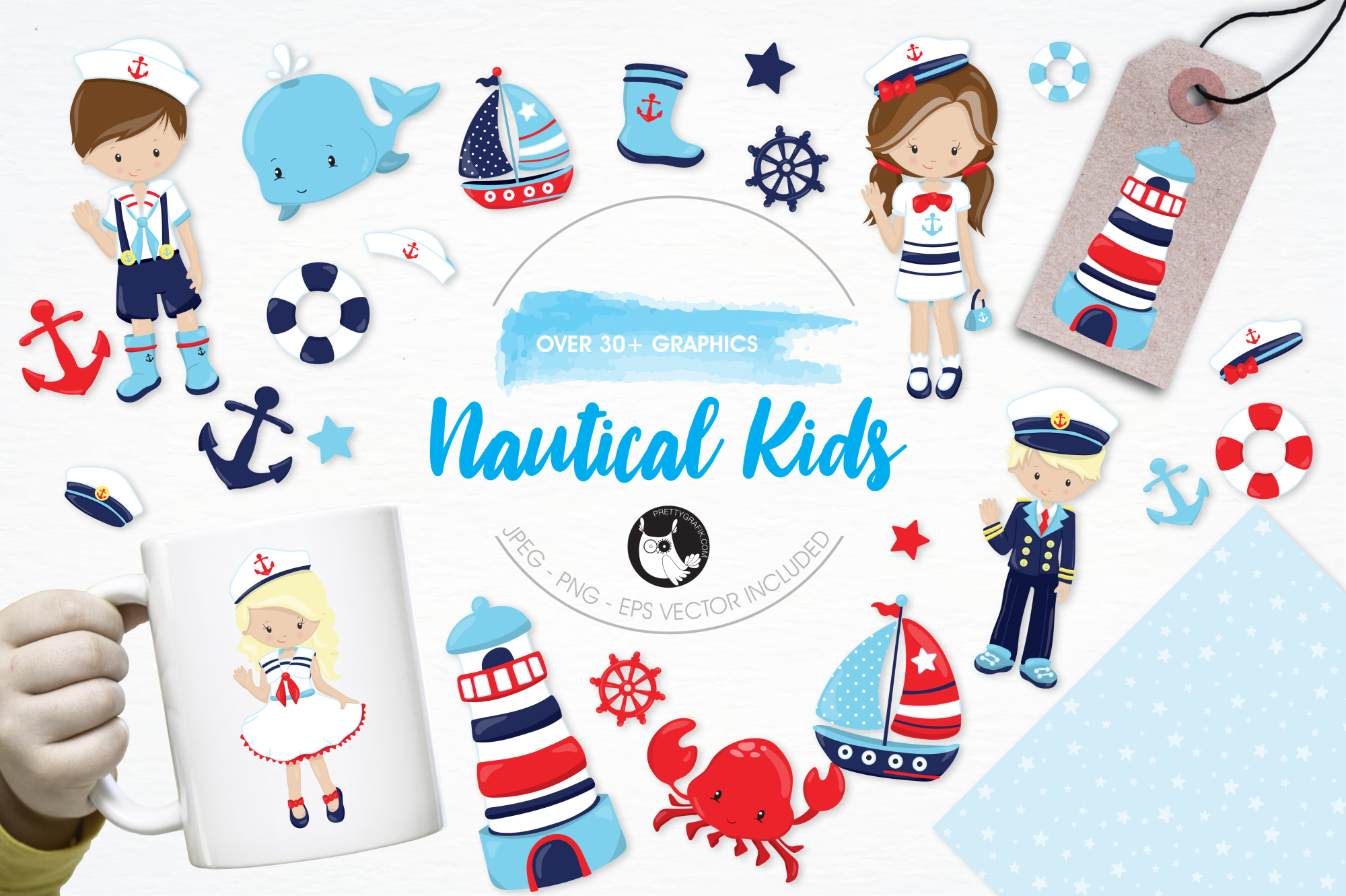 Nautical graphics and illustrations example image 1