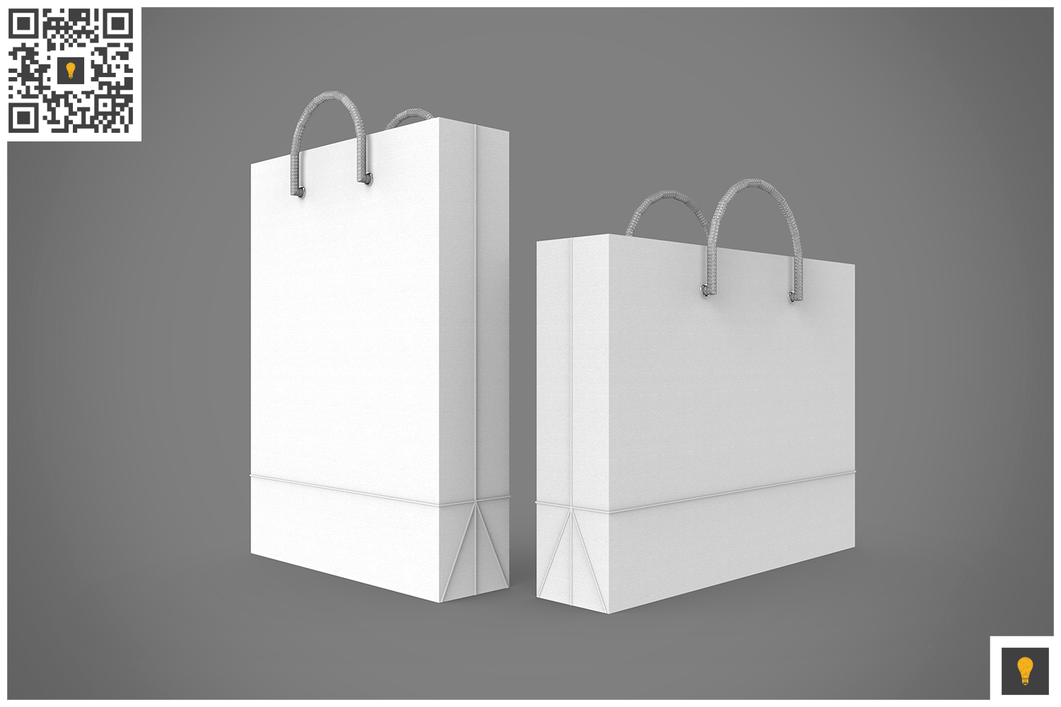 Shopping Bag 3D Render example image 5
