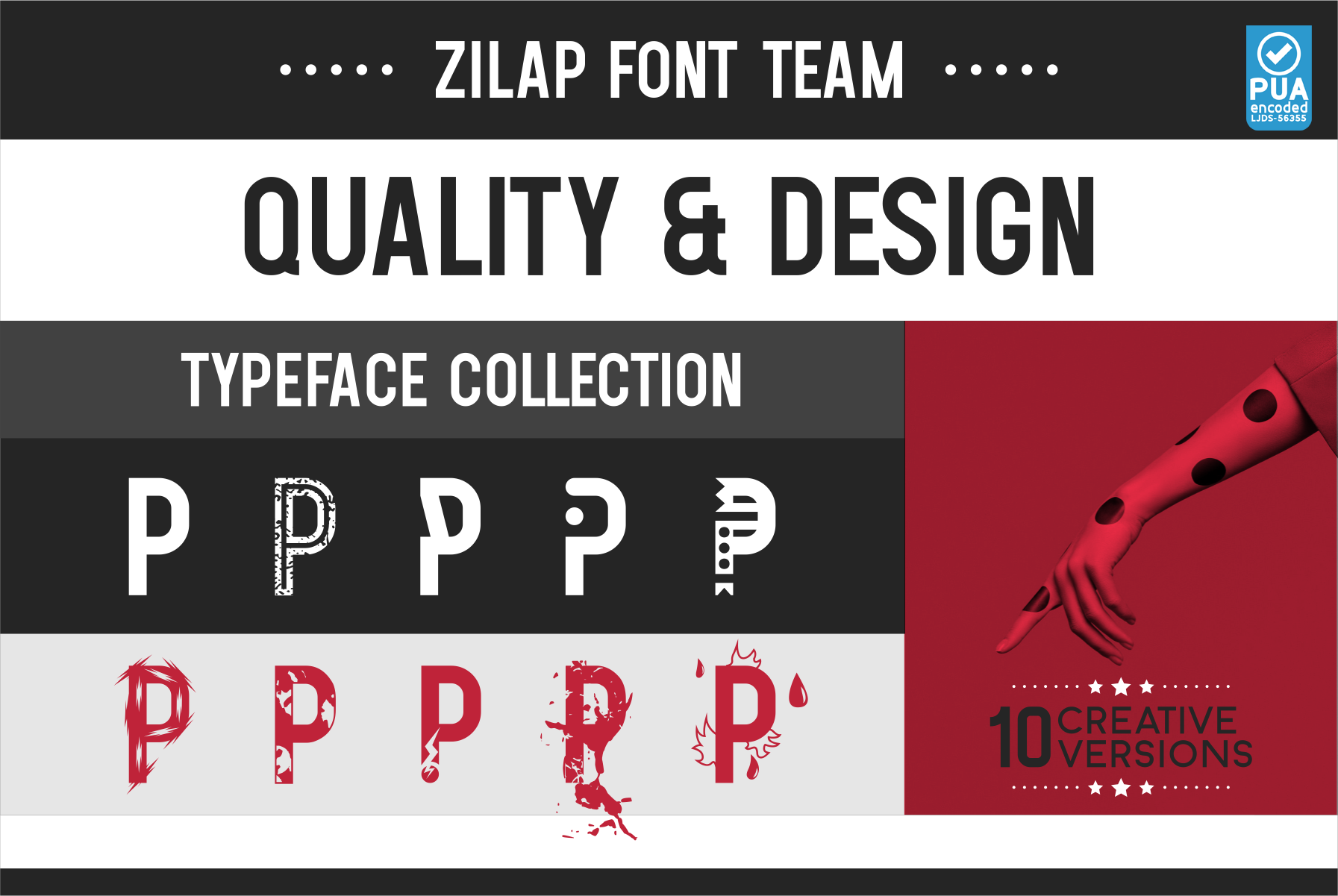 Zilap Font Team example image 7
