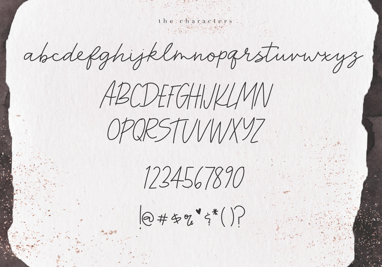 Harvest - A Handwritten Script Font example image 7