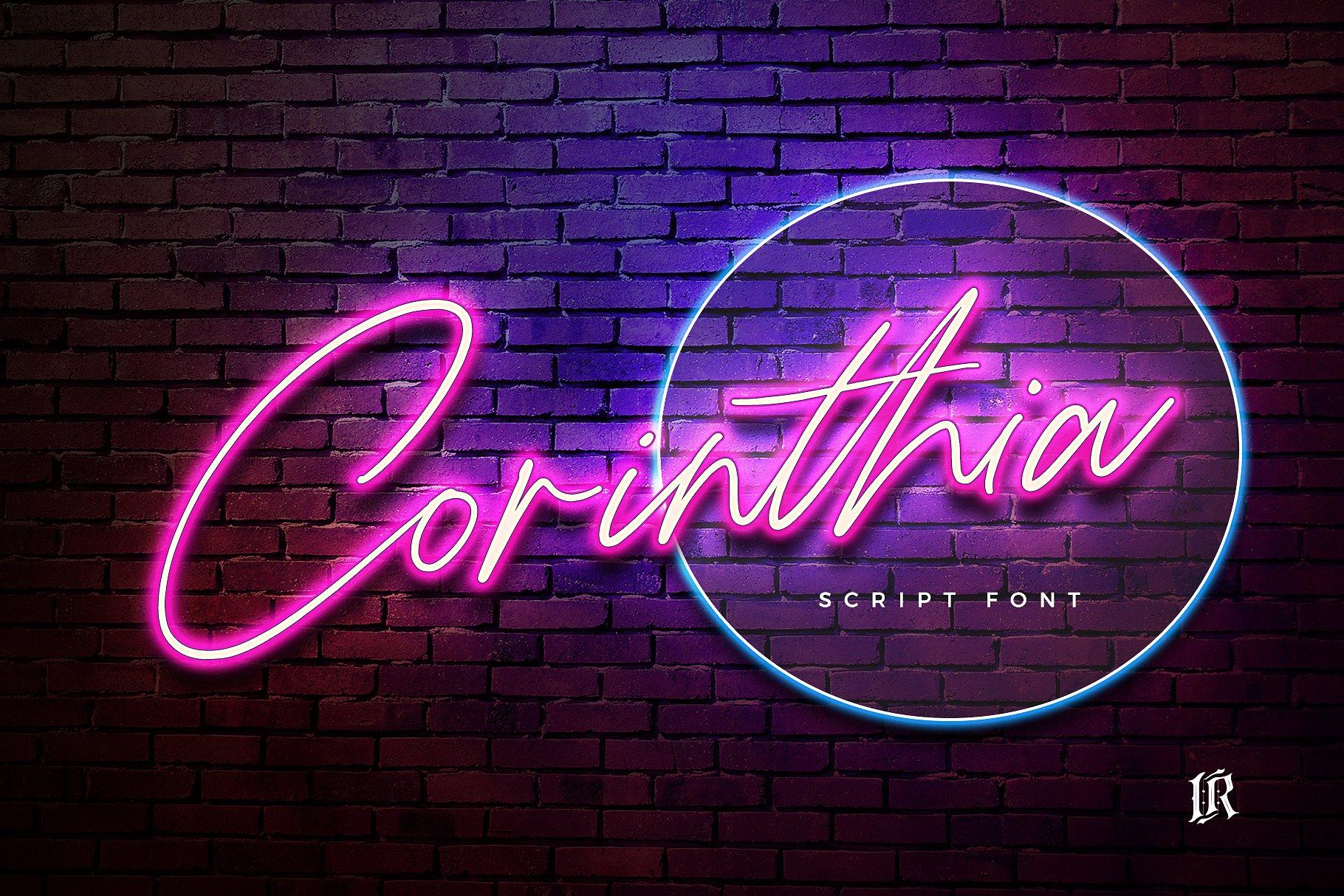 Corinthia Font example image 1