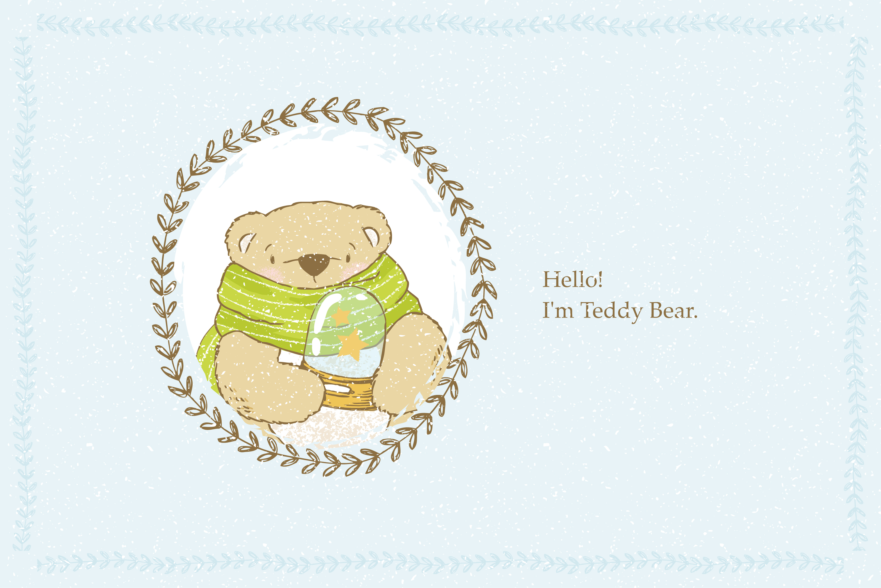 Teddy Bear little story. example image 2