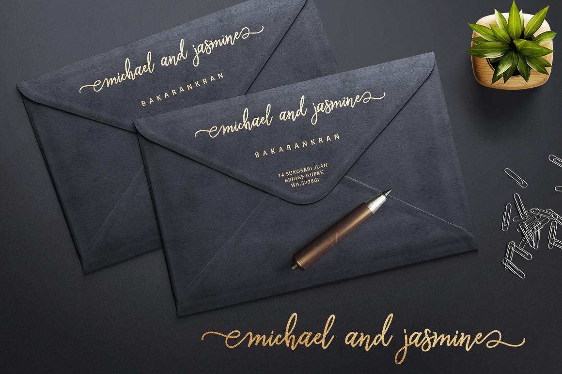 Monalisa Luxurious Font example image 4