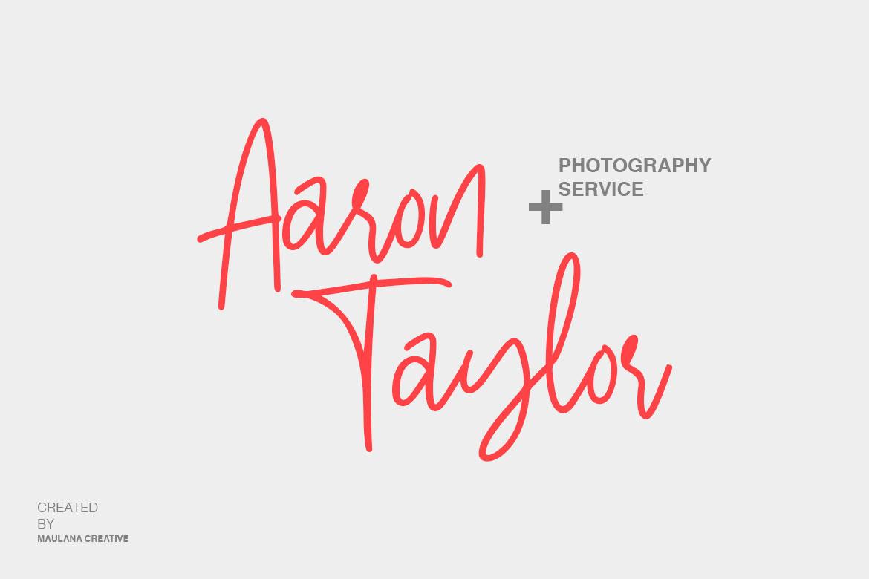 Stuborn - Modern Handwritten Font example image 2
