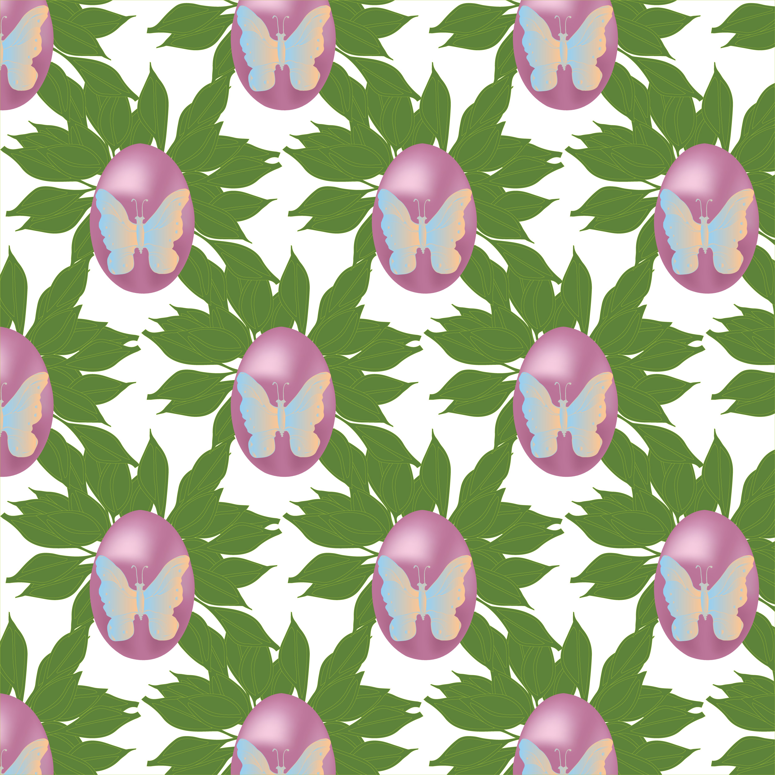 8 Seamless Easter Patterns example image 7