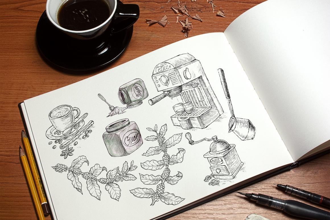 Watercolor Coffee Break example image 10