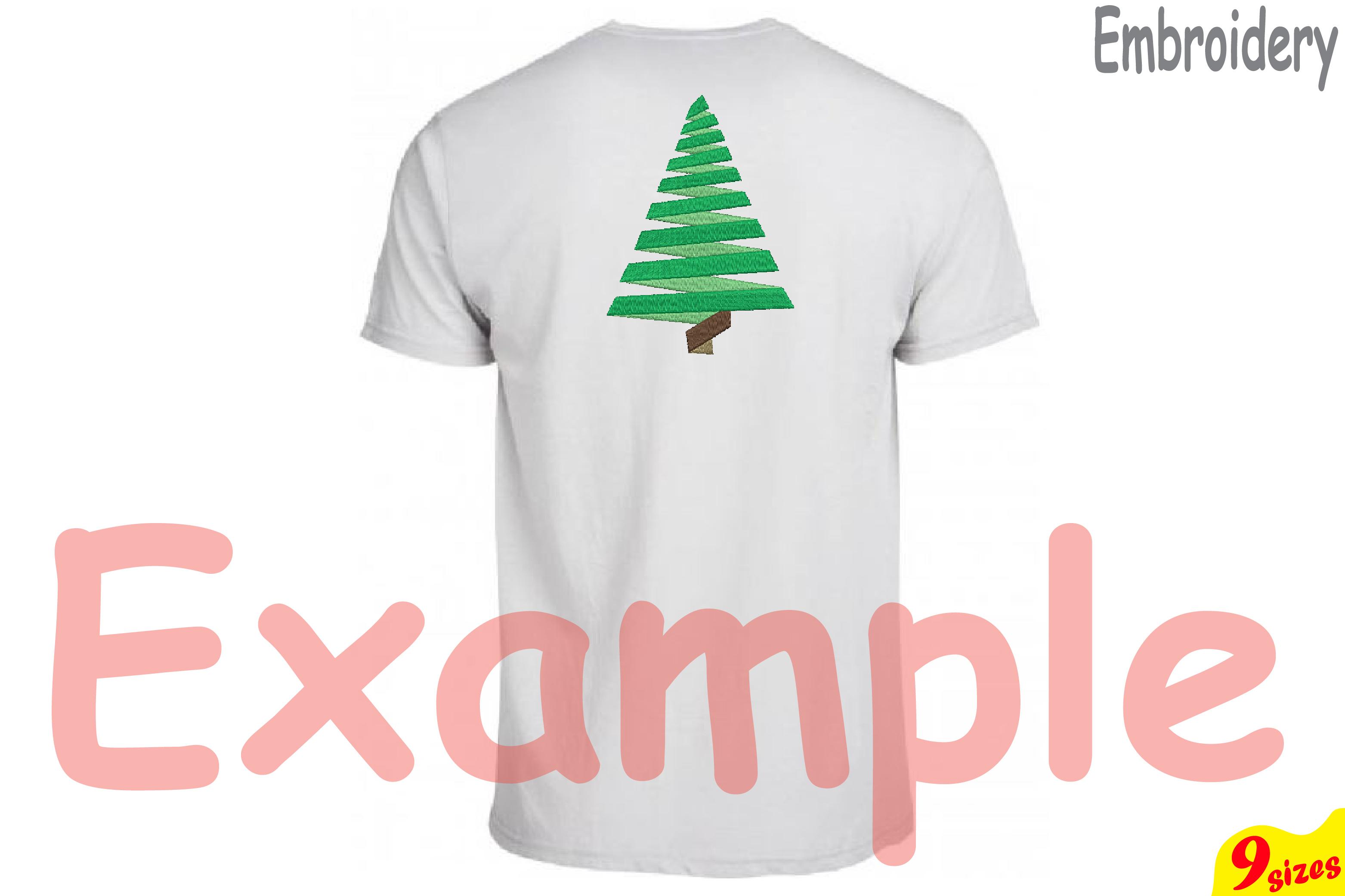 Christmas Tree Embroidery Design. Machi | Design Bundles