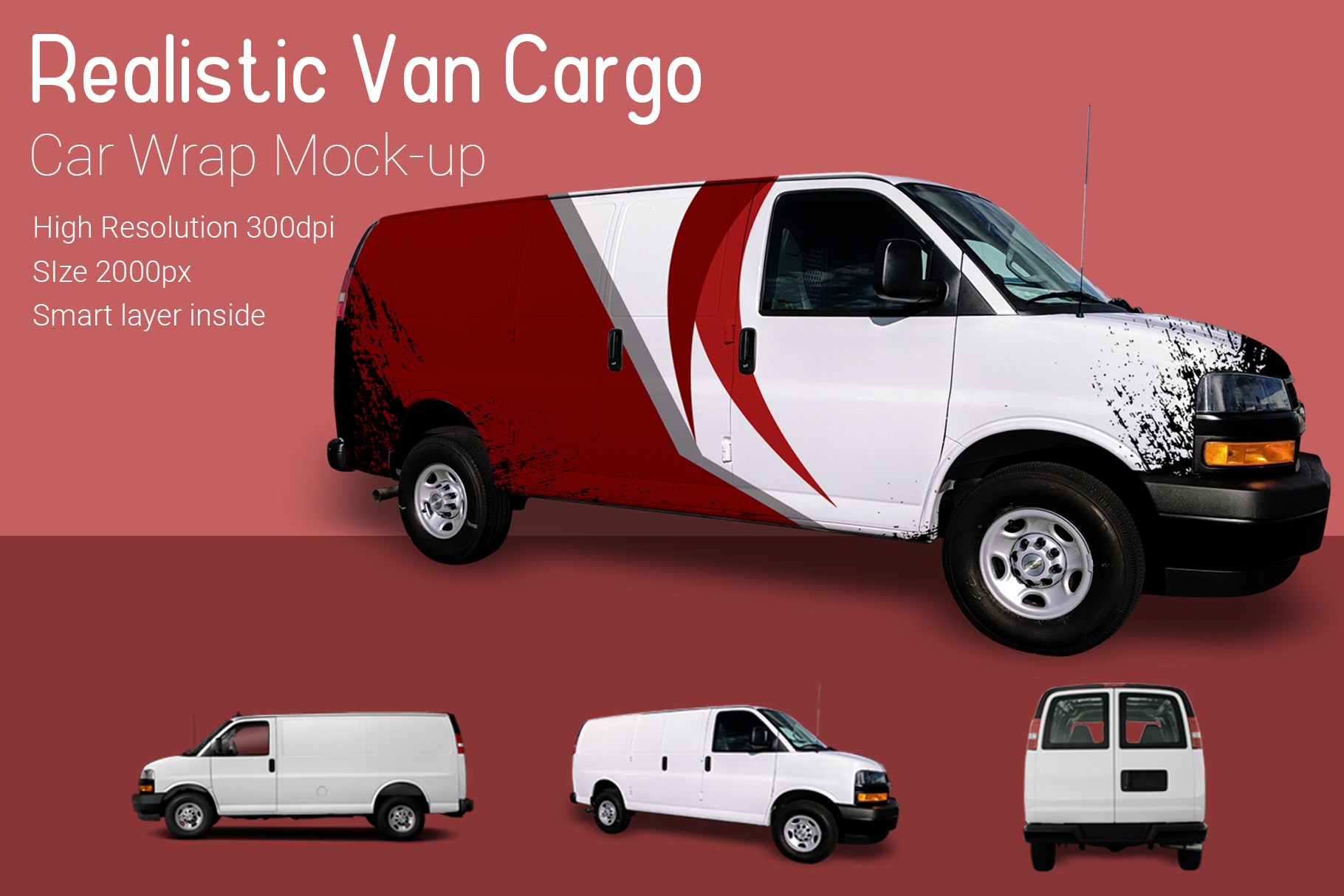 Van Mock-Up example image 2