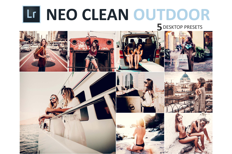 Neo Clean Outdoor Desktop Lightroom Presets example image 1