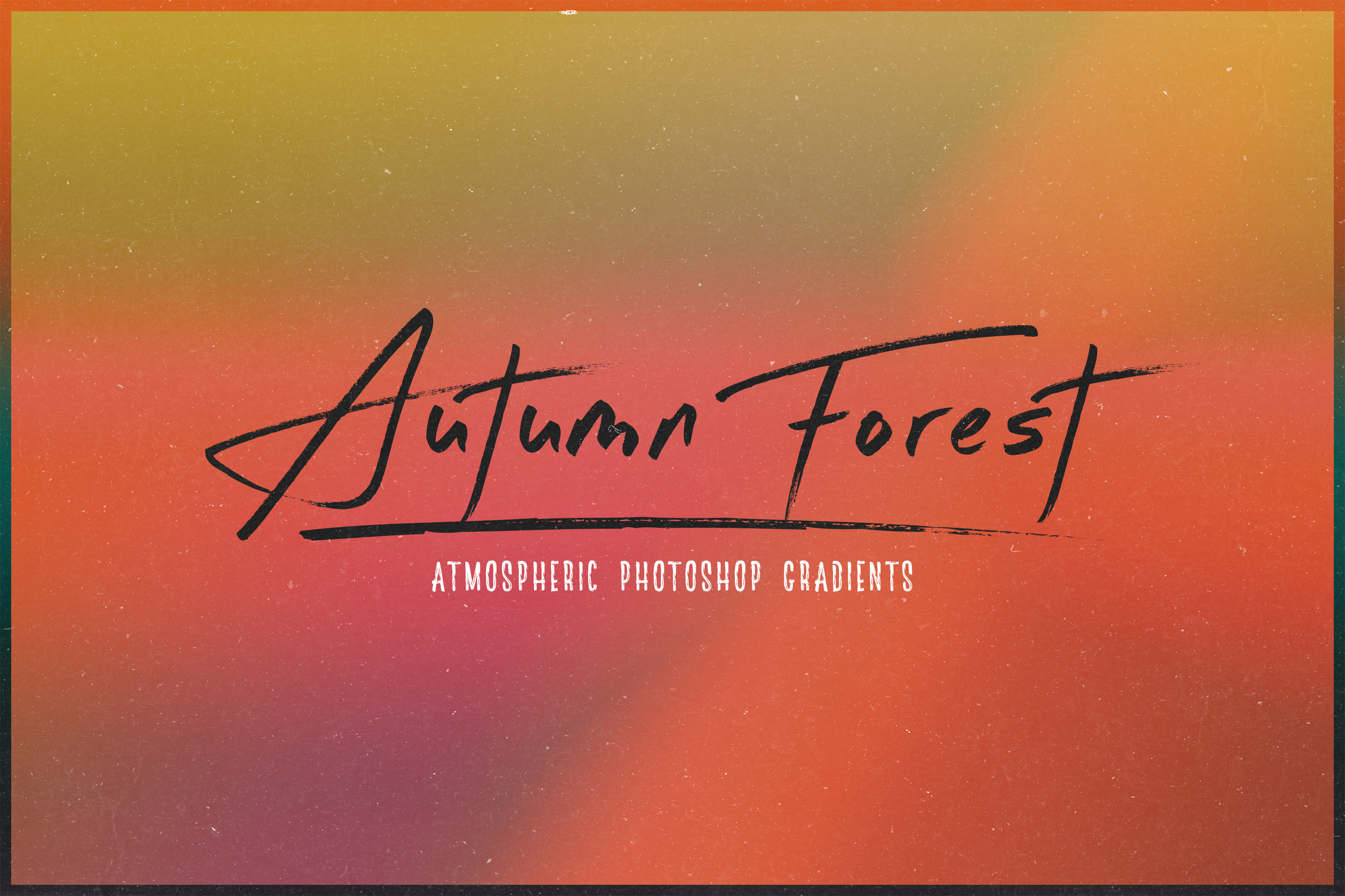 Autumn Forest - Atmospheric Photoshop Gradients Pack example image 1