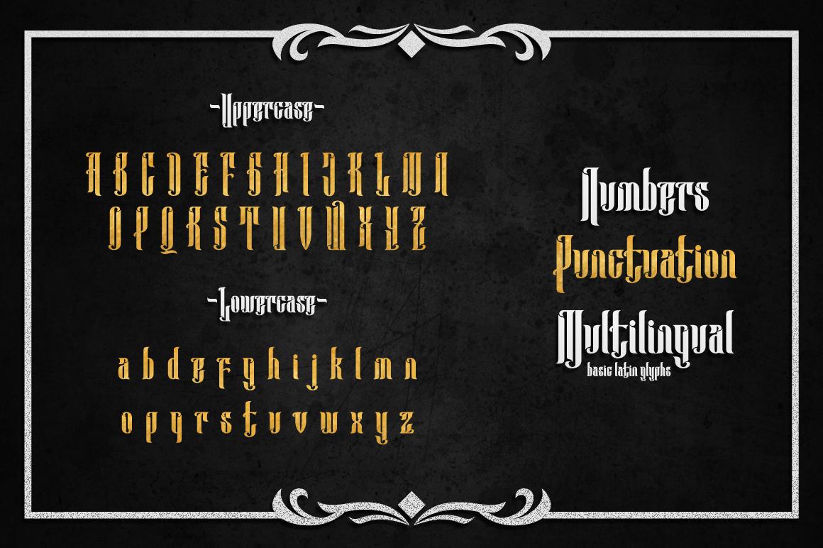 Anehena Typeface example image 5