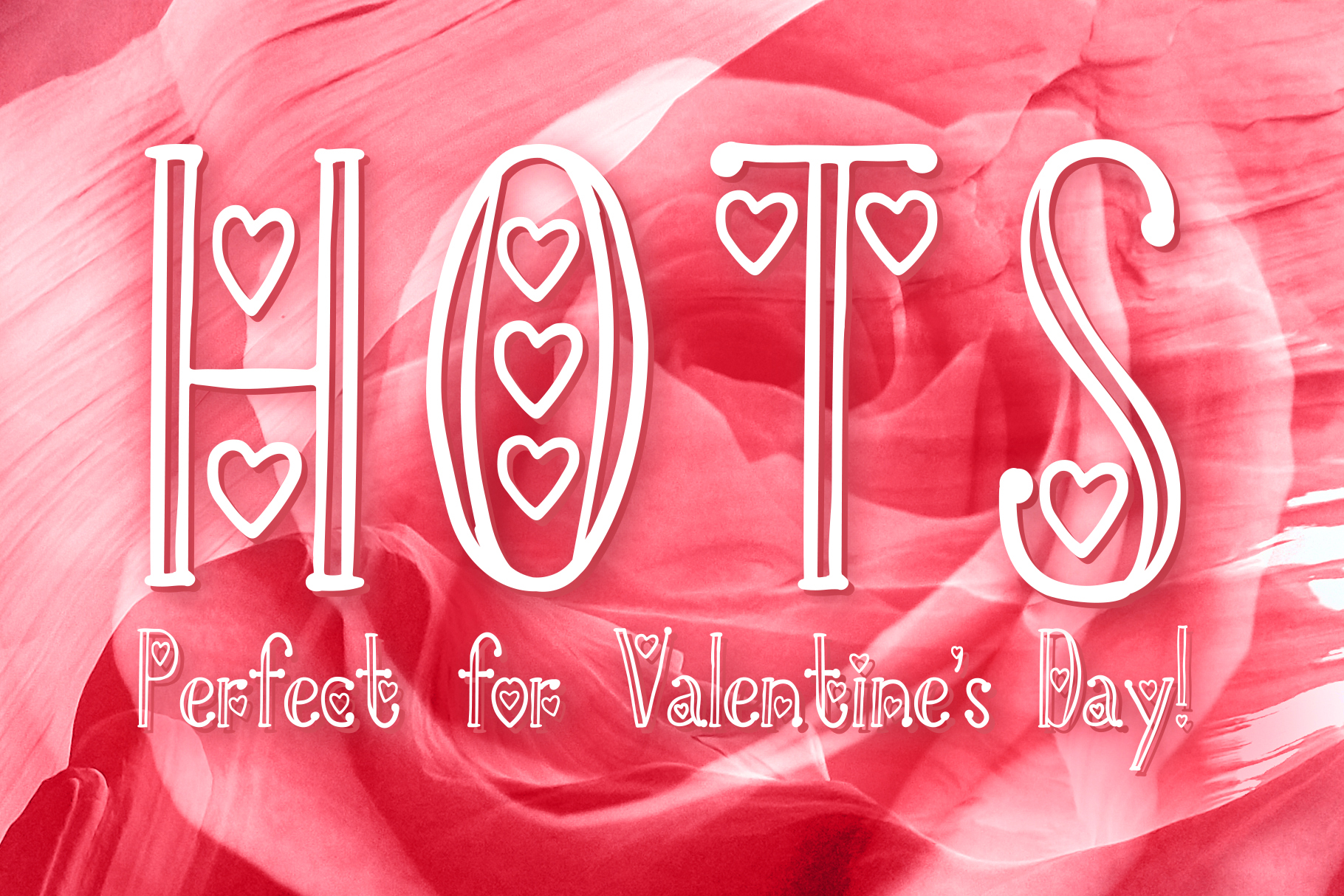 HOTS - Perfect Valentine's Day Font example image 1