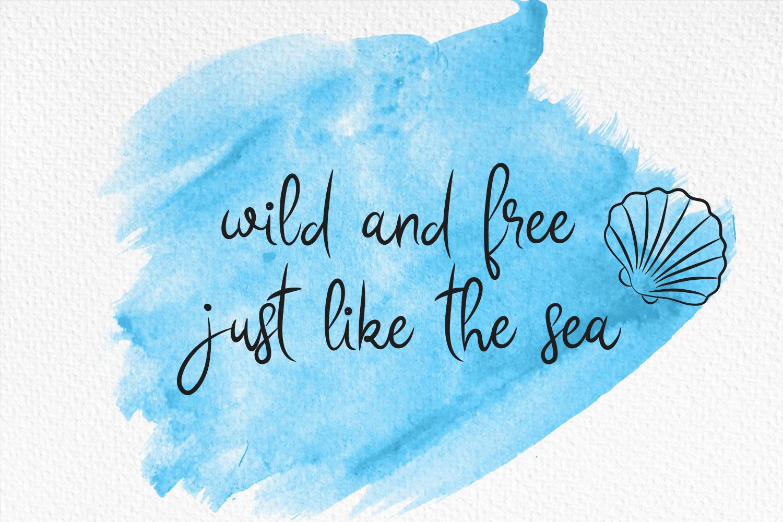 Sea Story + Bonus Doodles example image 3