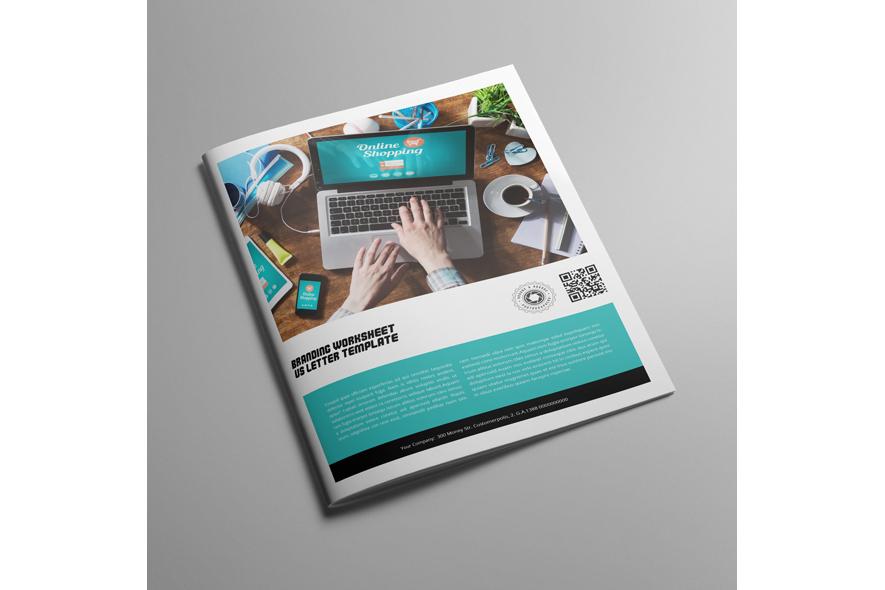 Branding Worksheet US Letter Template example image 3