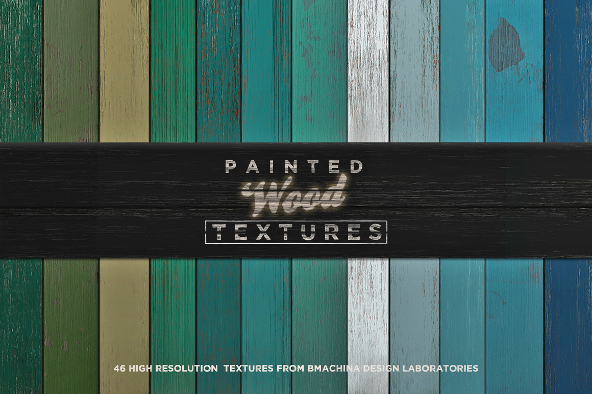 Painted Wood Textures example image 2