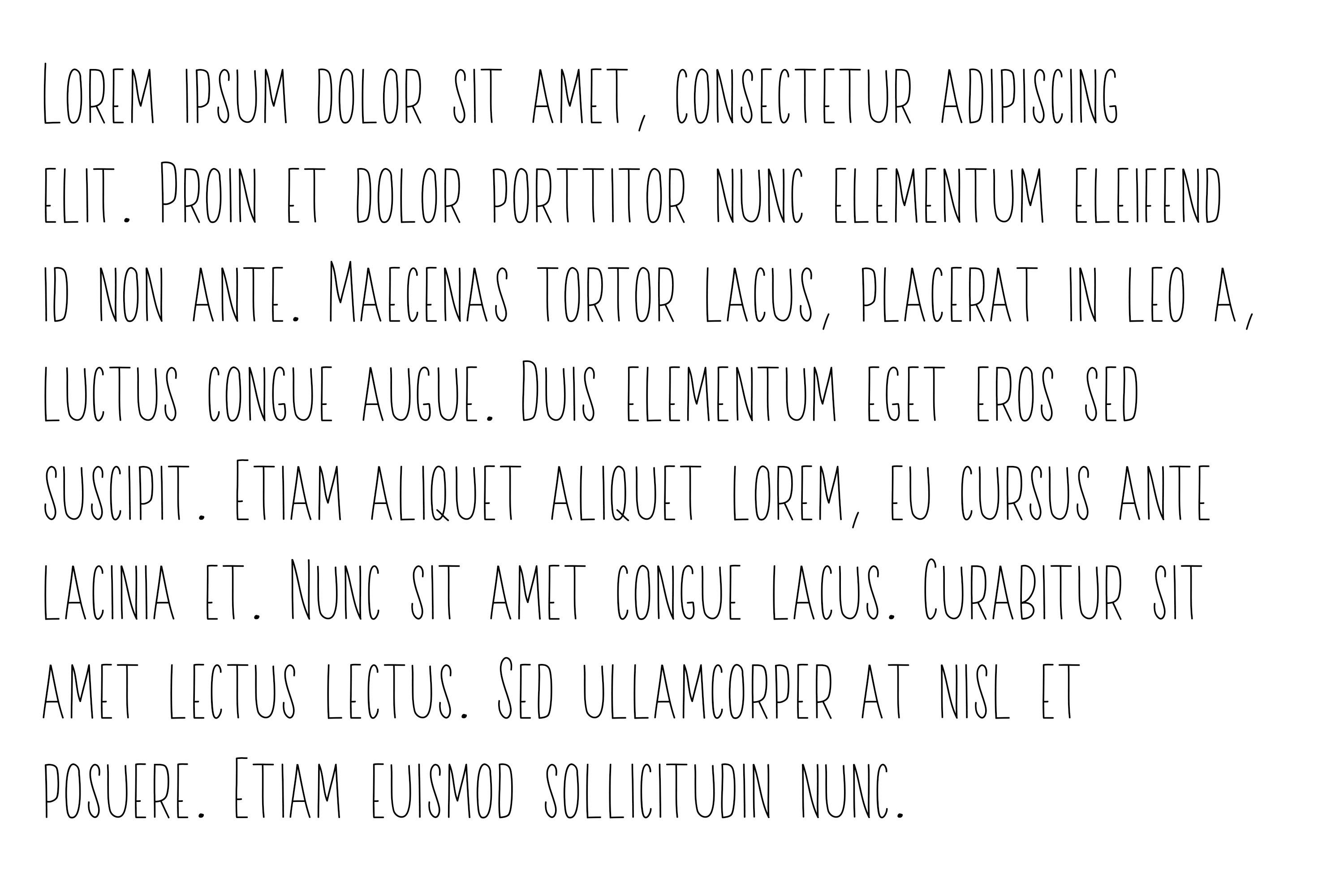 A Sweet Font Duo example image 9