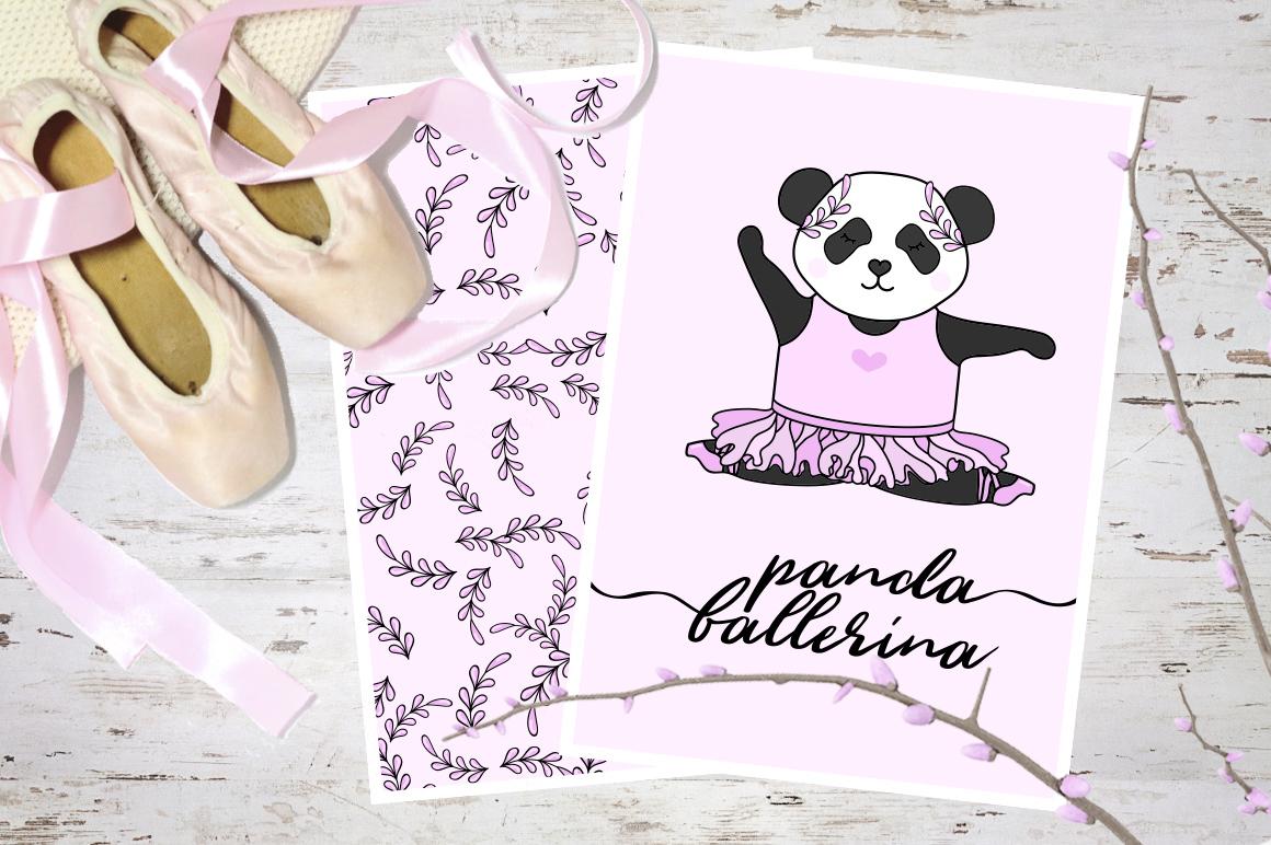 Panda Ballerina Set example image 2