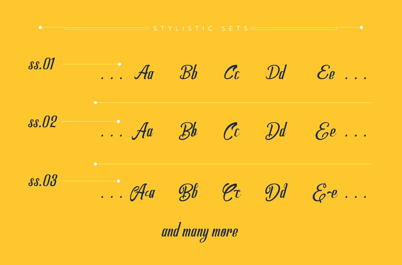 Allema Script Font example image 12