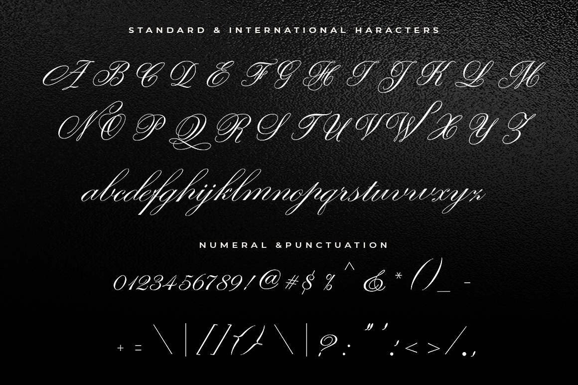 Giordano Script example image 6