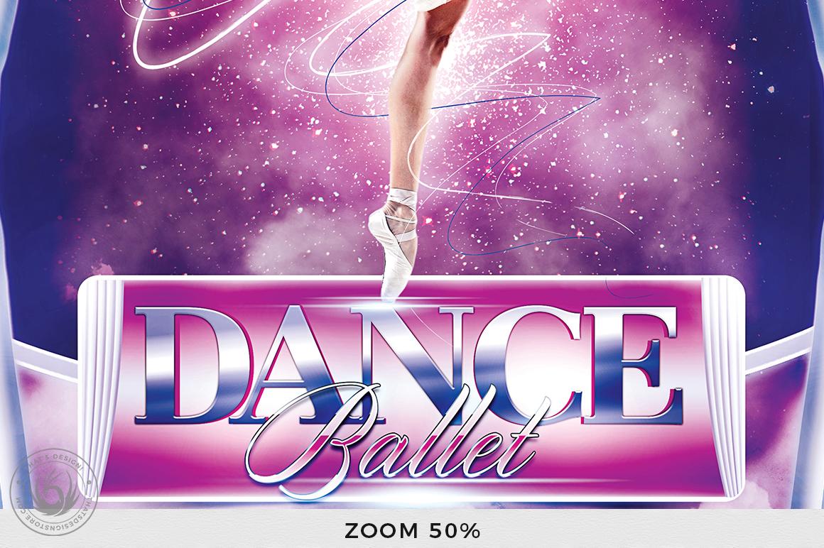 Dance Ballet Flyer Template V1 example image 8