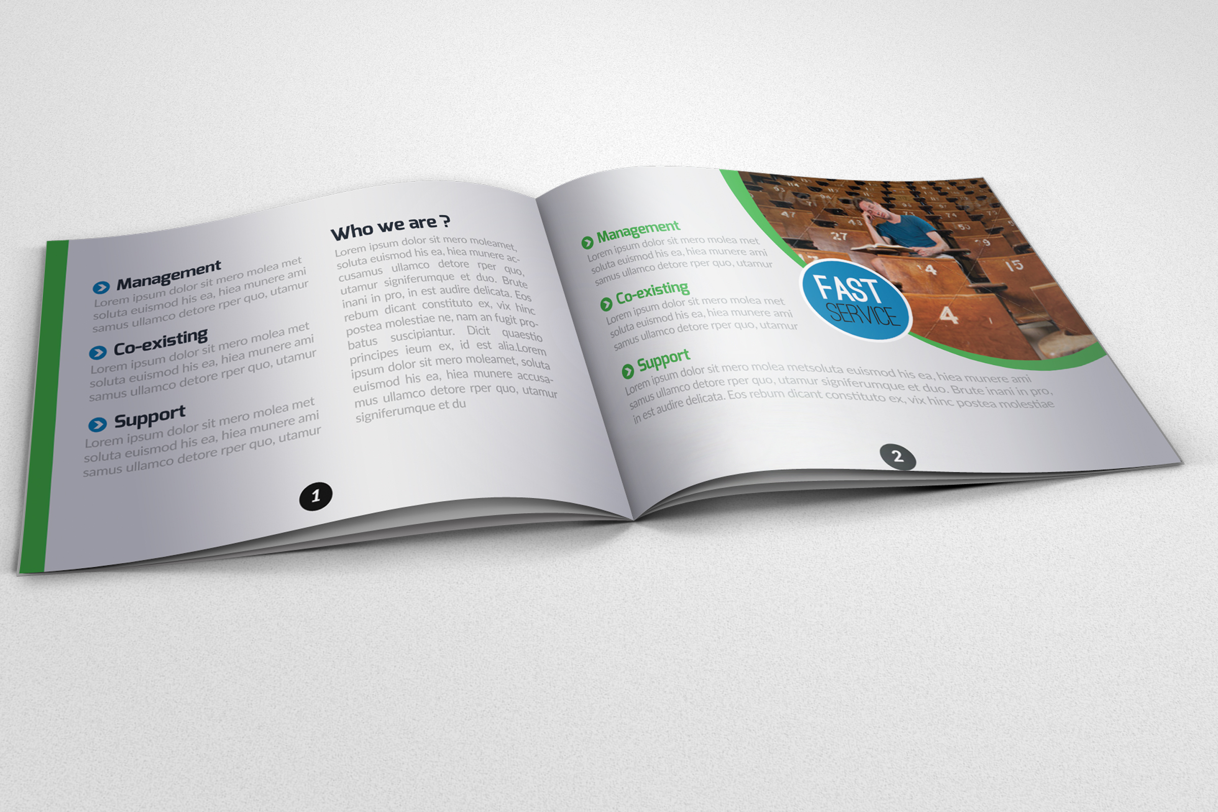 20 Pages Catalogue Education Bifold Brochure example image 8
