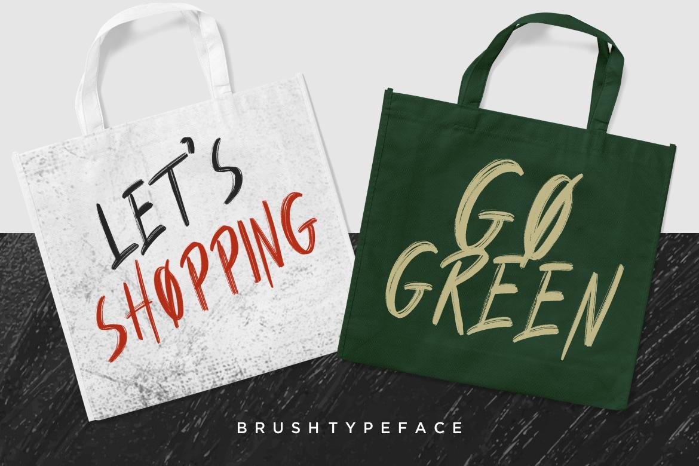 Humbolt Brush Typeface example image 5