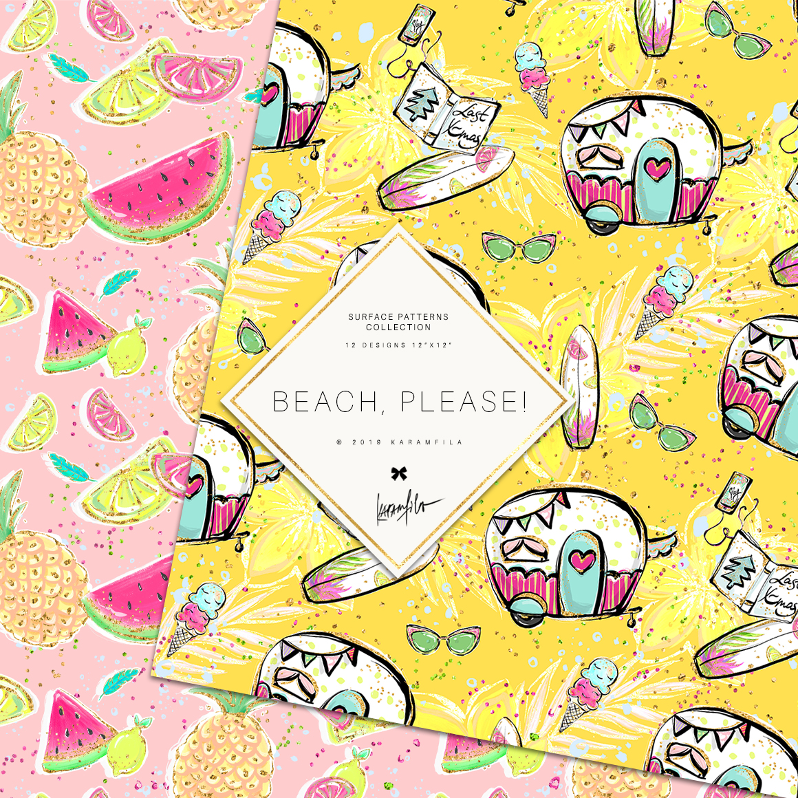 Beach Patterns example image 3