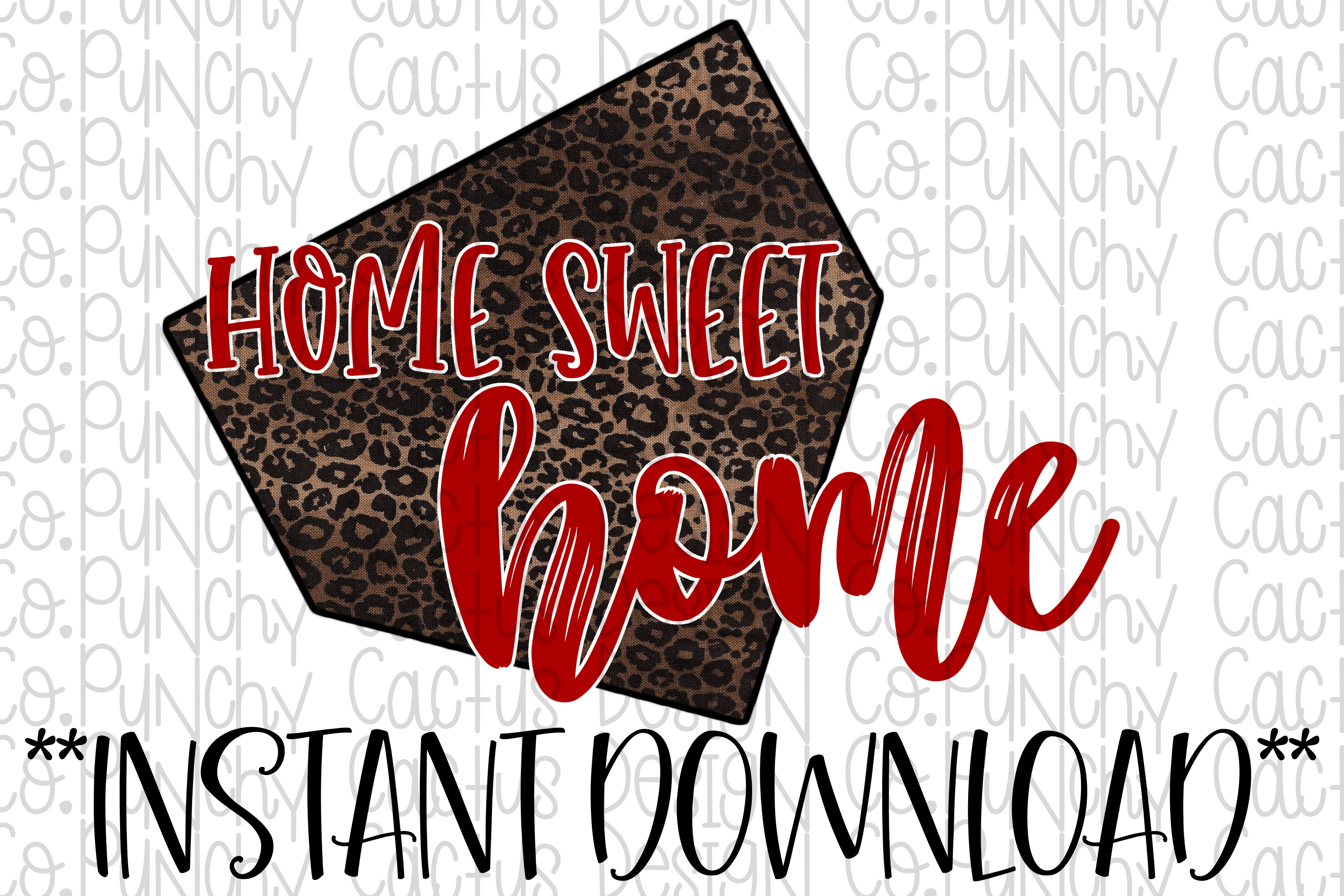 Home Sweet Home Sublimation Download, Baseball example image 1